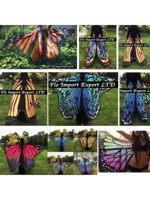 Ali Farfalla Copricostume Pareo Mare Spettacolo Donna WINGB02
