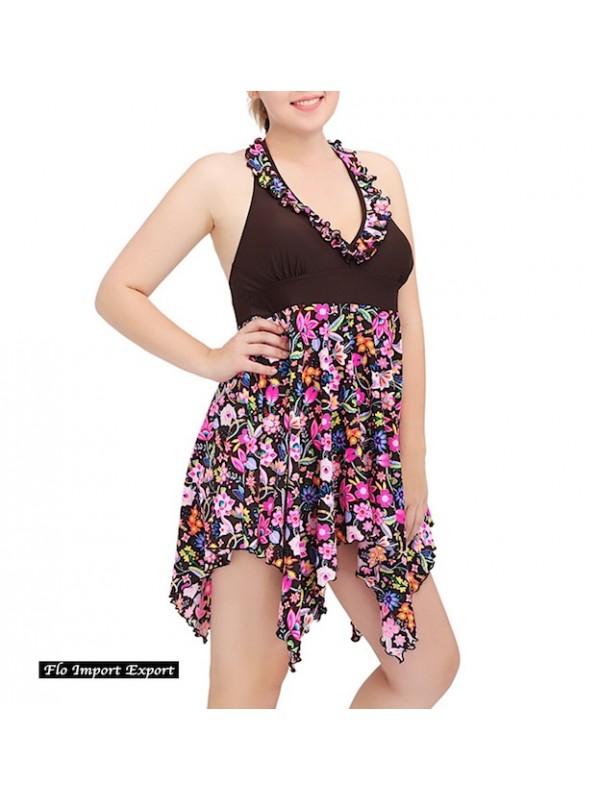 Costume da Bagno Vestito Donna Taglie Grandi WP0008-9