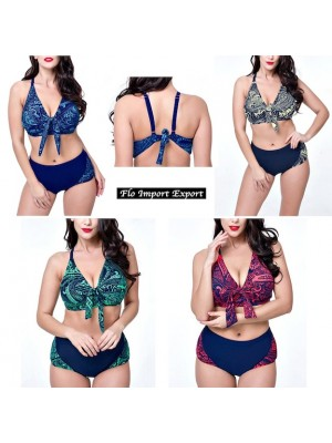 Costume da Bagno 2 Pezzi Bikini Donna Taglie Grandi  WP0013