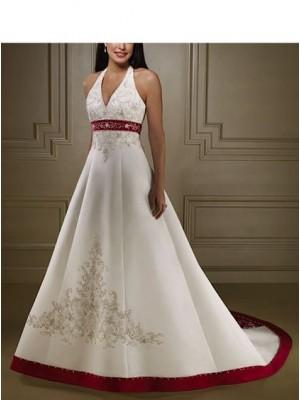 Abito da sposa Satin Impero 00115B